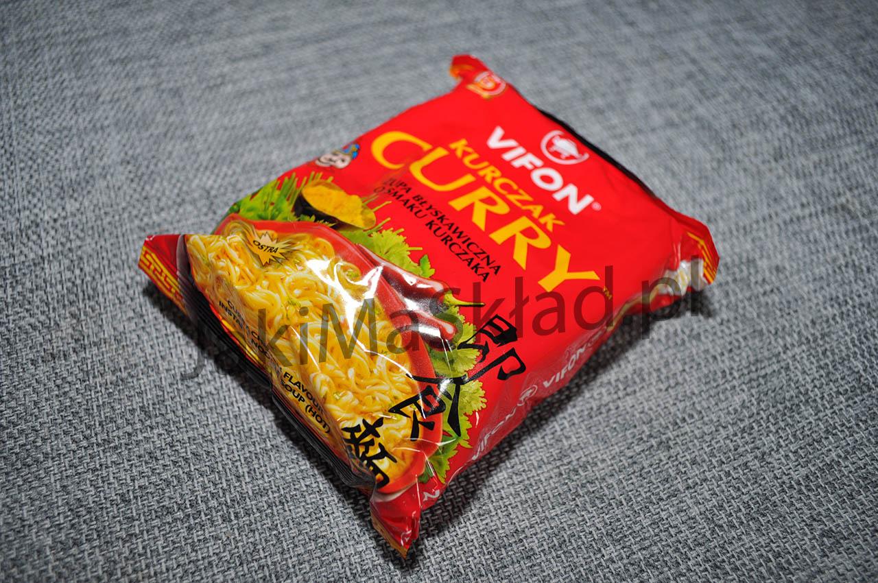 Kurczak Curry Ostra Vifon Sprawdz Sklad Kalorie Opinie I Wiele