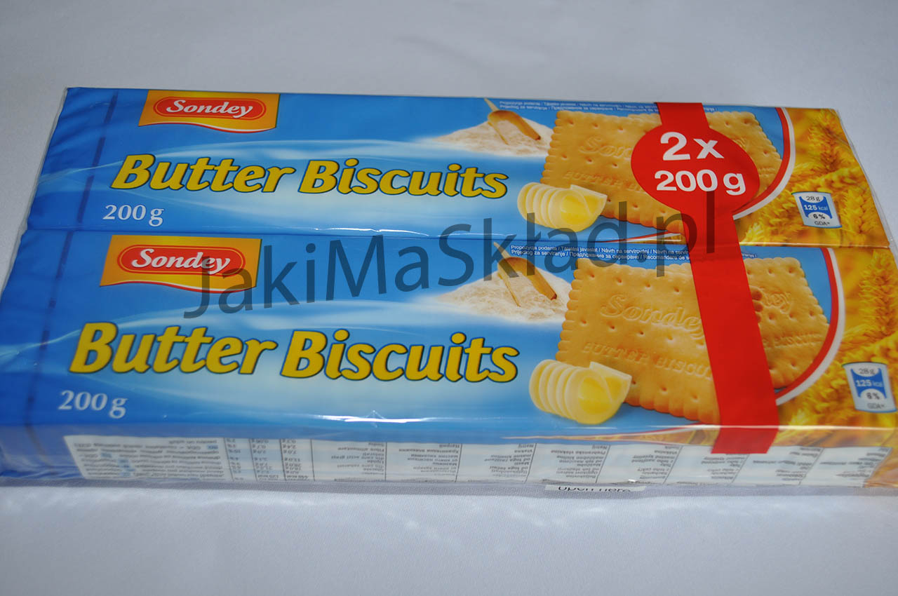 Butter Biscuits Sondey