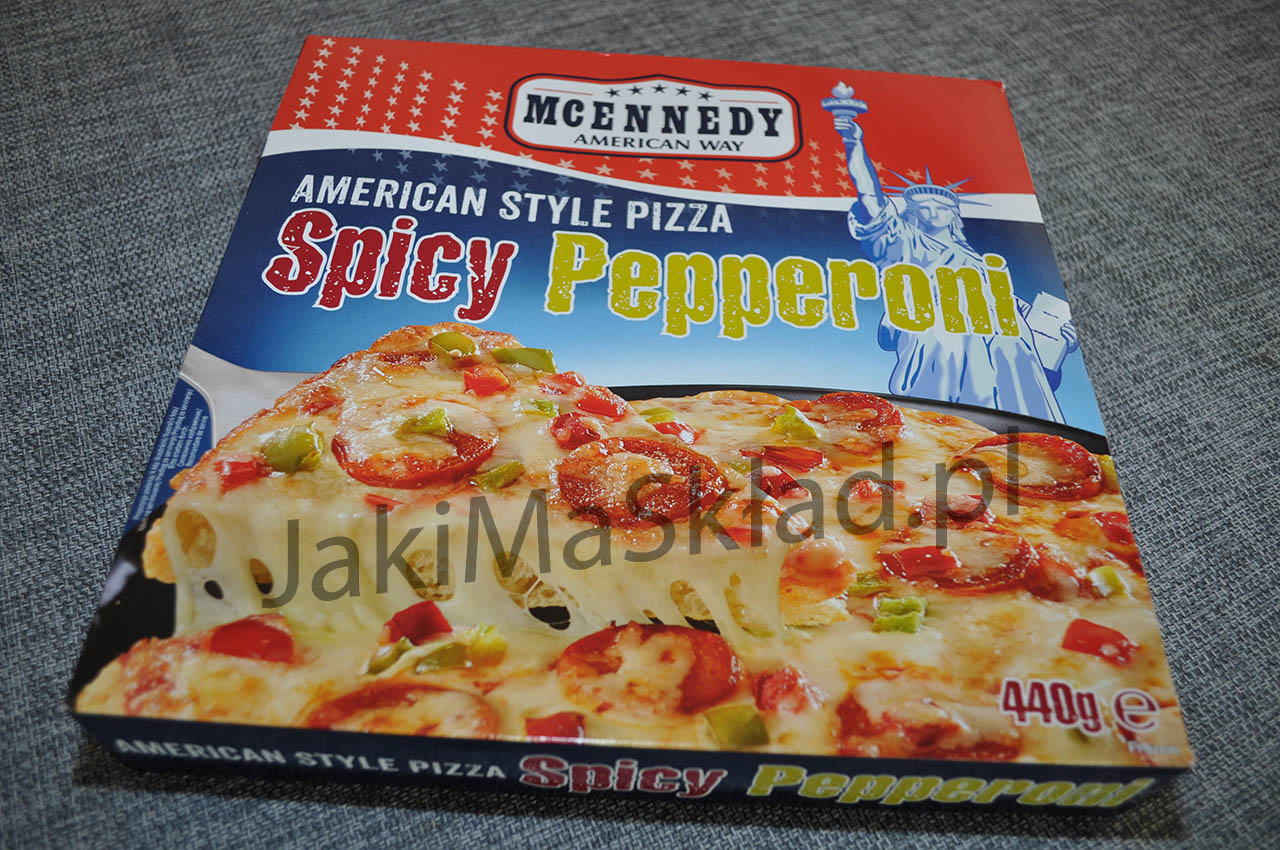 Pizza McEnnedy Spicy Pepperoni